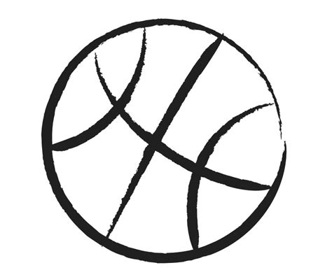 basketball clipart black and white free basketball clip pictures clipartix