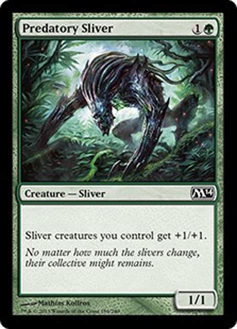 Mtg Sliver Deck Budget by Hive Got A Feeling By Mike Cannon Gatheringmagic