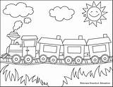 Coloring Pages Train Electric Scooter Skateboard Pts Printable Kindergarten Preschool Easy sketch template