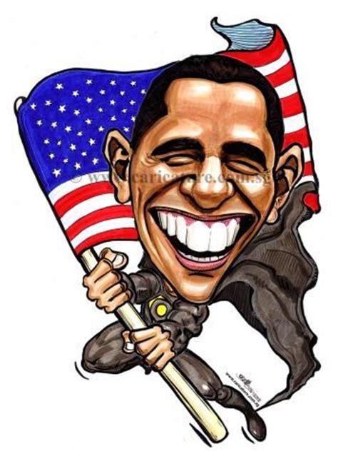 cartoon caricatures cartoon caricature  barack obama