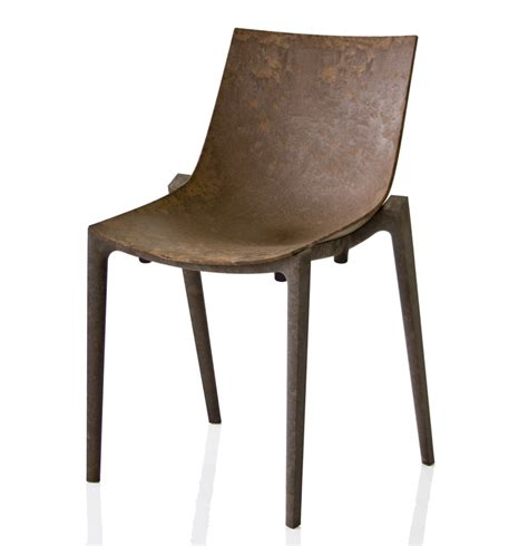 chaise cuir vintage magis zartan chair eugeni quillet philippe starck