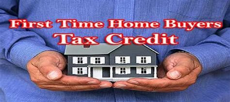 The First-time Home Buyers' Tax Credit
