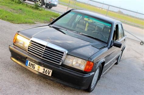 1986 mercedes 190 e 190e 2 3 16v cosworth manual 5 speed no reserve classic