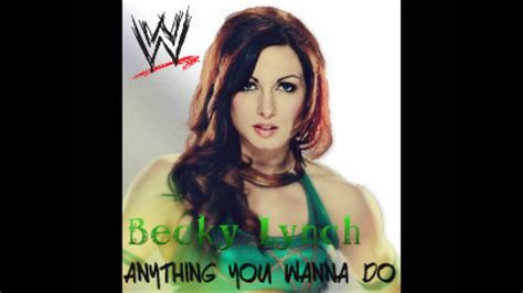 becky lynch  wwenxt theme   wanna