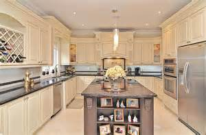 cherry kitchen island classic kitchen design and renovation in richmond hill
