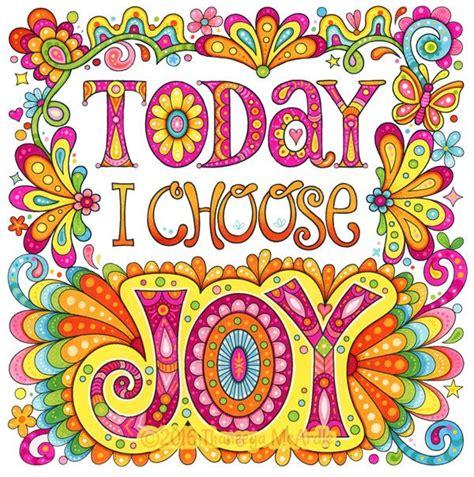 today  choose joy colored version  thaneeya coloring