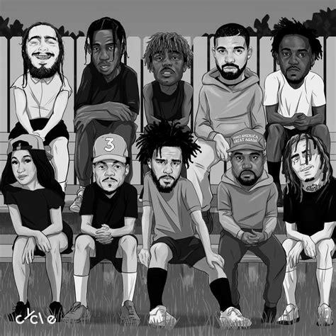 Música Music rap Hip Hop Lil J cole Kendrick Sza Kanye ...