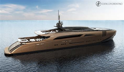 History Supreme Superyacht by The Belafonte 50m Yacht Design By Federico Fiorentino