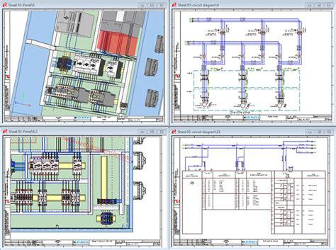 electrical panel pesign software e3 panel