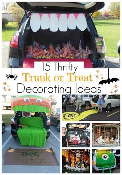 trunk or treat decorating kits 15 thrifty trunk or treat decorating ideas happy money saver