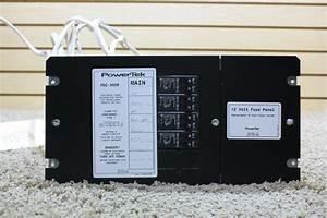 Rv Accessories Used Motorhome Powertek 12 Volt Fuse Panel