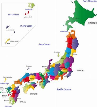 Japan Map Website Cities Prefectures Capital Maps