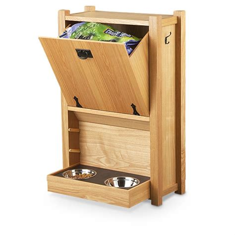 pet feeder station wood pet feeding station 209947 pet accessories at