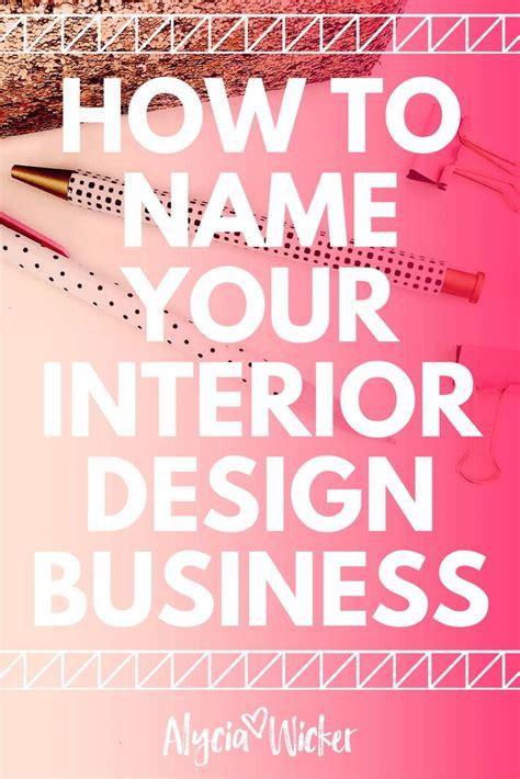 unique interior design firm names home decor news