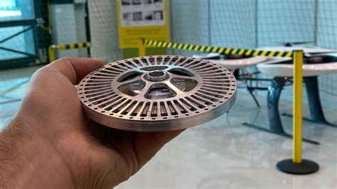 Custom axial flux permanent magnet BLDC   Ultra light ...