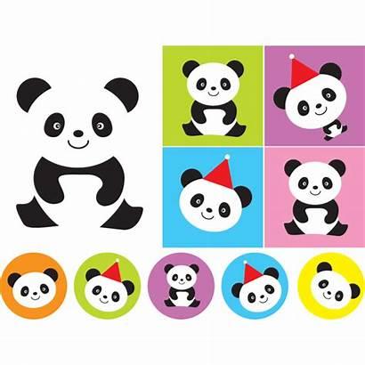 Panda Sticker Stickers Imprimer