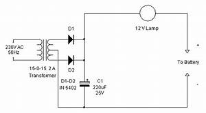 tricky charger electronics hobby With say a battery is supplying 12 volts to a circuit