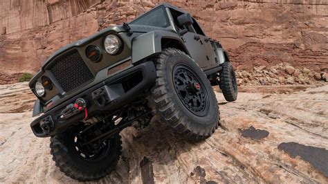 A Romp Off-road In The Jeep Crew Chief Concept
