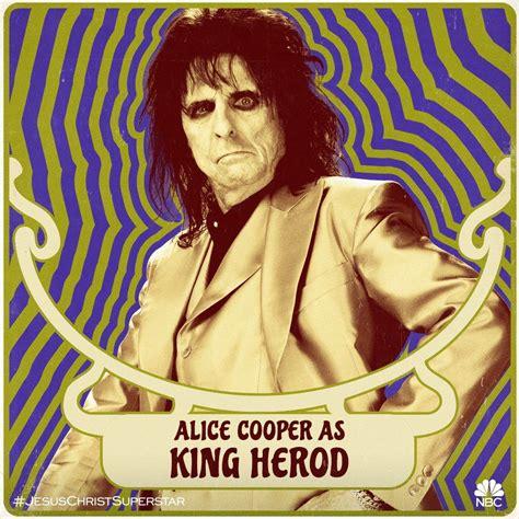 Alice Cooper is King Herod in