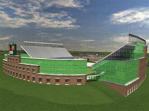 North Texas University Football Stadium