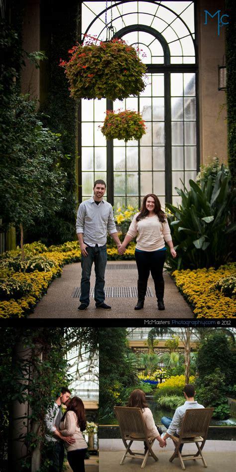 longwood gardens engagement session cherlyn rob