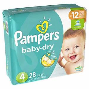 Pampers Baby Dry Diapers Size 4 Jumbo Pack | Walgreens