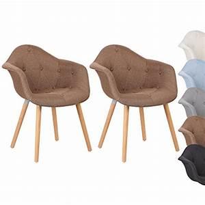 Gepolsterte Stühle Mit Lehne : woltu bh55br 2 esszimmerst hle 2er set esszimmerstuhl mit lehne design stuhl k chenstuhl leinen ~ Bigdaddyawards.com Haus und Dekorationen