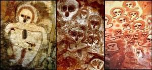 8 Cave Paintings depicting Aliens - Jane Mackenzie