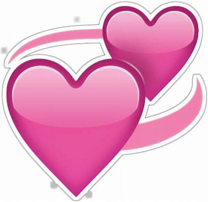 Emoji Hearts Transparent Heart Pink Clipart Emojis