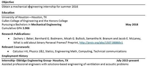 Publications On Resume by As A Phd Student Applying For Internships Where Should I