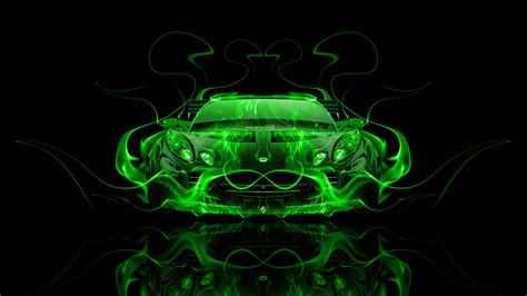 lotus elise tuning front fire abstract car  el tony