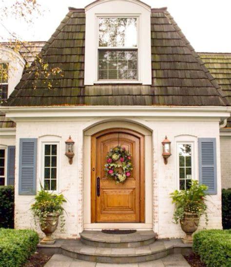 {decor Inspiration} 40 Beautiful Home Exteriors  Hello Lovely
