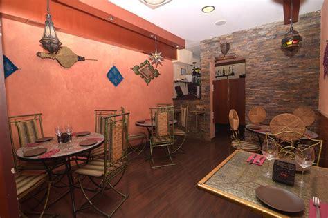 restaurante  menus  grupos en madrid cocina arabe