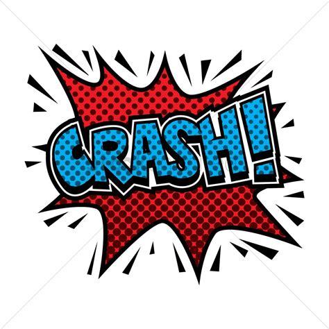 Comic Effect Crash Vector Image Stockunlimited