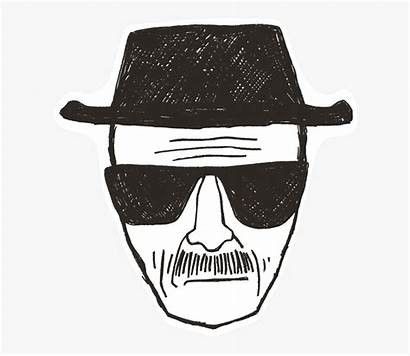 Heisenberg Breaking Bad Clipart Sketch Transparent Clipartkey