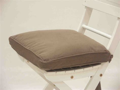 galette de chaise marron housse galette de chaise 21 java marron clair decor