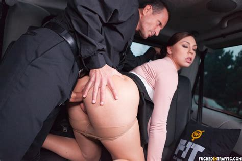 Morgan Rodriguez Gets Penetrated By Her Driver 1 Of 2