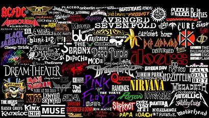 Band Rock Collage Resolution Wallpapers Wallpapera