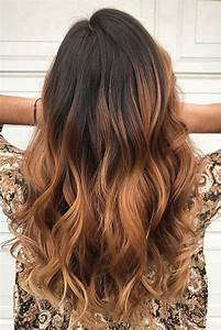 Ombré Hair Marron Caramel : 25 best ideas about brown ombre hair on pinterest ombre ~ Farleysfitness.com Idées de Décoration