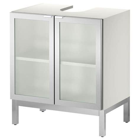 under bathroom sink storage ikea lillången sink base cabinet with 2 door aluminum ikea