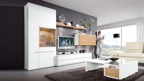 Weiße Möbel Mit Holz by Diese Wohnwand Loddenkemper Bringt Moderne Eleganz In