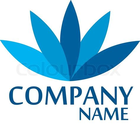 design company logo company business logo design vector stock vector