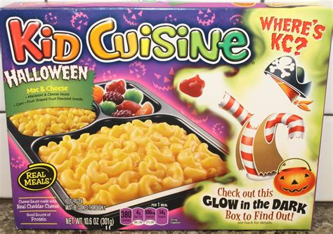 Kid Cuisine Halloween Mac & Cheese Meal Review Youtube