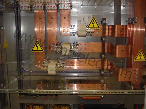 bureau d étude électricité jeu de barres de puissance barres de cuivre cmt creea