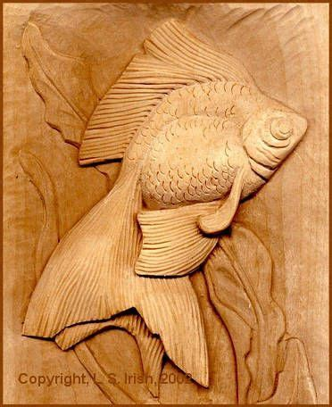 relief wood carving projects    irish