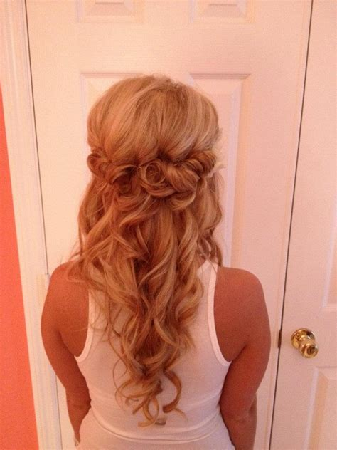hair prom styles back view the crown look hair 3343