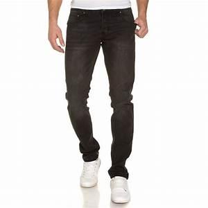 Jean Slim Noir Homme : jeans jean noir d lav slim homme blz jeans ~ Voncanada.com Idées de Décoration