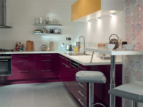 cuisine aubergines le top déco des nouvelles cuisines castorama