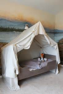 cing tent bed in a kid s woodland bedroom cool walls for and child room