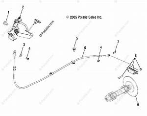 Polaris Side By Side 2006 Oem Parts Diagram For Park Brake